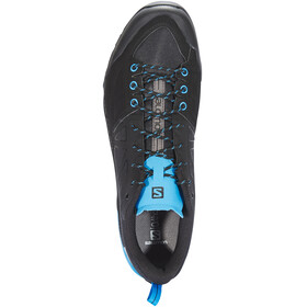Salomon X Alp SPRY - Chaussures Homme - noir/turquoise